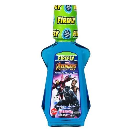 Ополаскиватель для полости рта детская FIREFLY AVENGERS 237 мл