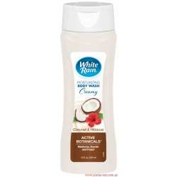 White Rain гель для тела кокос и гибискус питательный и увлажняющий 354 мл
