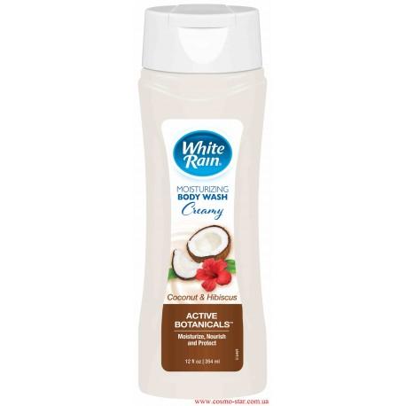 Гель для тела White Rain кокос и гибискус питательный