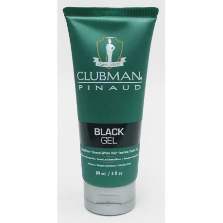 Гель д/укладки волос маскирующий черный Клубман 89 мл