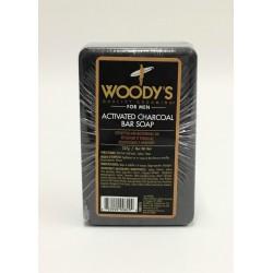 Мыло с активированным углем Вудис детоксифицирующее 227 грамм