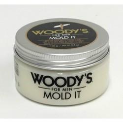 Помадка-паста для волос Woody's Mold It Styling Paste 100 грамм