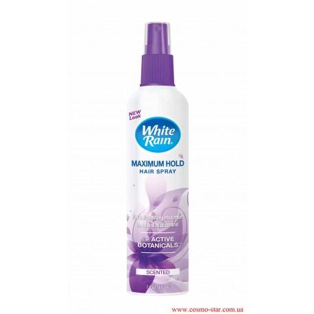 Спрей-лак для волос White Rain Maximum Hold максимальной фиксации 207 мл