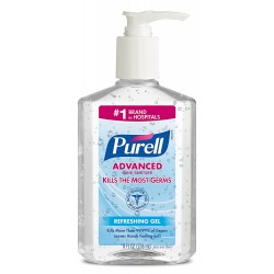 Дезинфектор для рук Пурел с этиловым спиртом 236 мл № 9652-12
