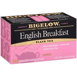Чай Бигелоу Английский завтрак 42 грамм 20 пакетиков