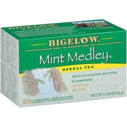Чай Бигелоу два вида мяты 36 грамм 20 пакетиков