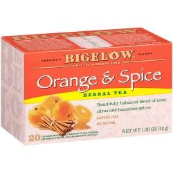 Чай Бигелоу апельсин и специи 42 грамм 20 пакетиков