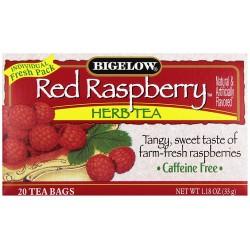 Чай Бигелоу Красная малина 33 грамм 20 пакетиков