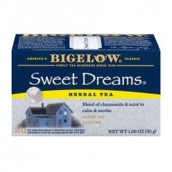 Чай Бигелоу Сладкие мечты 30 грамм 20 пакетиков