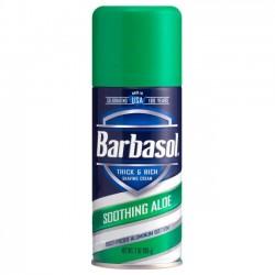 Пена для бритья Barbasol Soothing Aloe успокаивающий алоэ 198 мл.