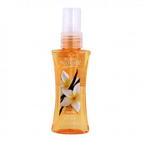 Парфюмированная вода для тела Body Fantasies Vanilla 50 мл
