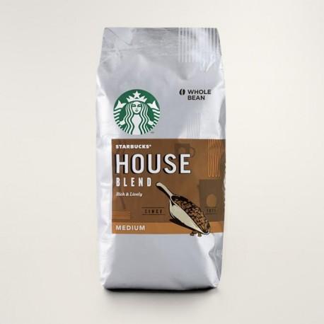 Кофе в зернах Starbucks House Blend  340 гр