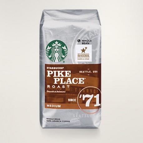Кофе в зернах Starbucks Pike Place Roast Coffee Medium 340 гр