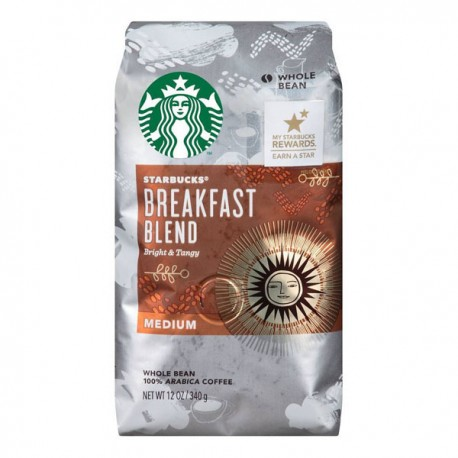 Кофе в зернах Starbucks Breakfast Blend Medium 340 гр