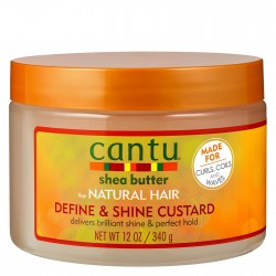 Крем с маслом ши Cantu Define & Shine Custard 340 мл