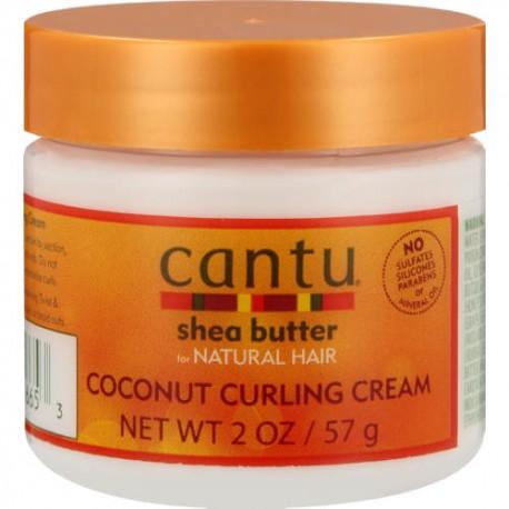 Крем несмываемый CANTU COCONUT CURLING для кудрявых и вьющихся волос 57 грамм