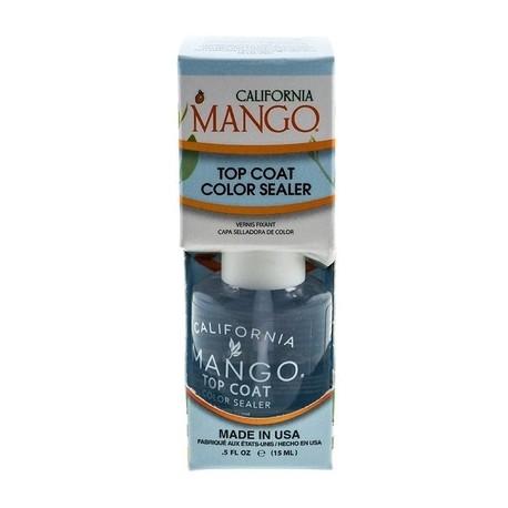 ТОП-покрытие для ногтей Сalifornia Mango Nail Care Top Coat 15 мл