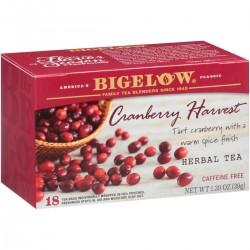 Травяной чай с клюквой Bigelow Cranberry Harvest 39 гр