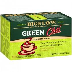 Зеленый чай  Bigelow Green Tea Chai 38 гр
