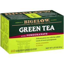 Зеленый чай с гранатом Bigelow Green Tea with Pomegranate 38 гр