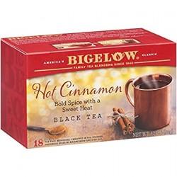 Черный чай горячий с корицей Bigelow Hot Cinnamon 34 гр
