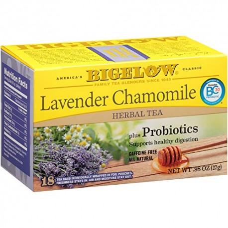 Травяной чай с лавандой и ромашкой Bigelow Lavender Chamomile 27 гр