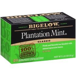 Черный чай с мятой Bigelow Plantation Mint 33 гр