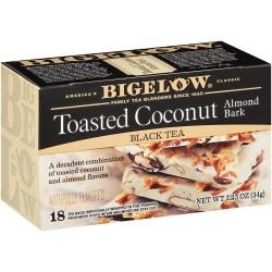Черный чай кокосово-миндальный Bigelow Toasted Coconut 34 гр