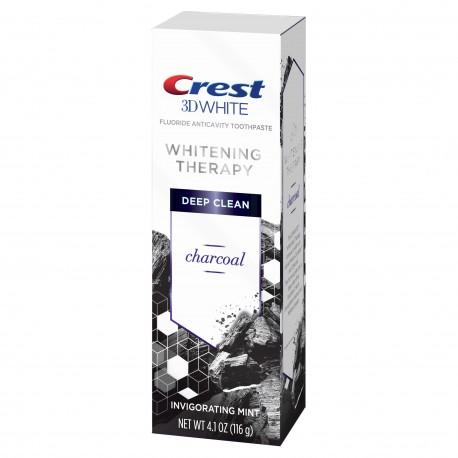 Отбеливающая зубная паста с углем Crest 3D White Whitening Therapy Charcoal Deep Clean116 грамм