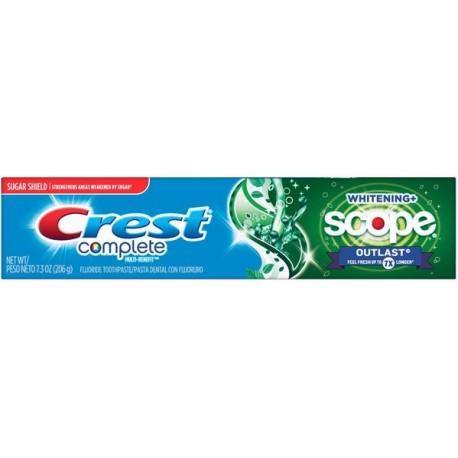 Зубная паста Crest Complete Whitening Scope Outlast 206 грамм