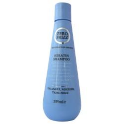 Шампунь с кератином Zero Frizz Keratin Shampoo 355 мл