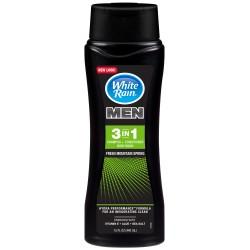Шампунь для мужчин White Rain 3в1 свежесть горной весны 440 мл