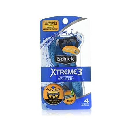 Одноразовые бритвы для мужчин Schick Xtreme-3