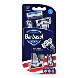 Одноразовые бритвенные станки Barbasol Six Blades шесть лезвий 3 шт