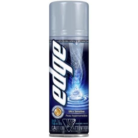 Гель для бритья EDGE Ultra Sensitive для очень чувствительной кожи 198 грамм