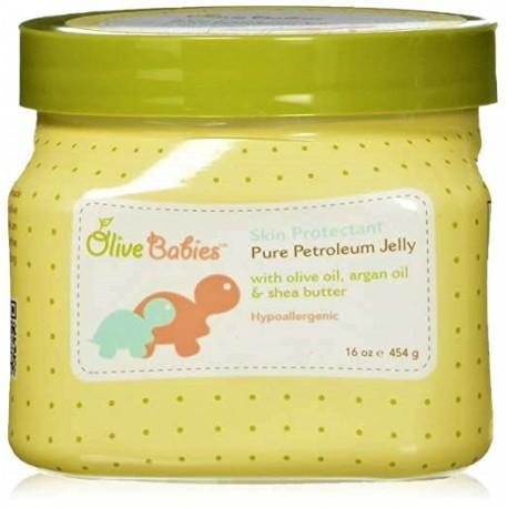 Гель детский для кожи Olive Babies PETROLEUM JELLY 454 грамм