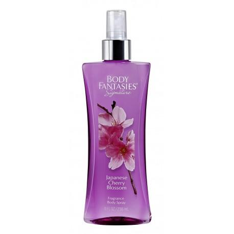 Парфюмированная вода для тела Body Fantasies цветение сакуры 236 мл