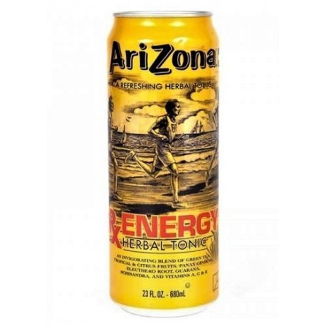 Чай Arizona RX Energy herbal tea травяной чай 680 мл