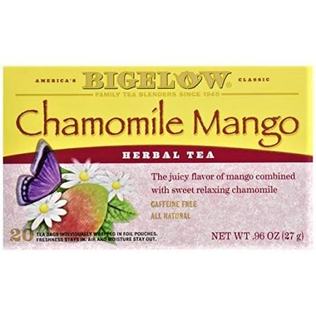 Чай Bigelow Tea Chamomile Mango ромашка-манго27 грамм