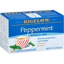 Чай Bigelow Tea Herb Pepmint перечная мята 25 грамм 20 пакетиков