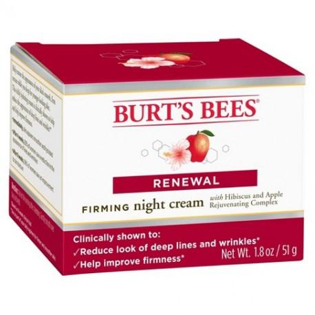 Крем ночной восстанавливающий Burt's Bees FOOT с гибискусом и яблоком 51 грамм