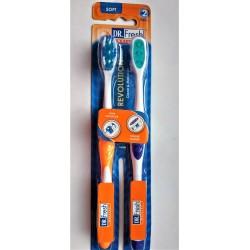 Набор зубных щеток DR. FRES REVOLUCION 2 шт