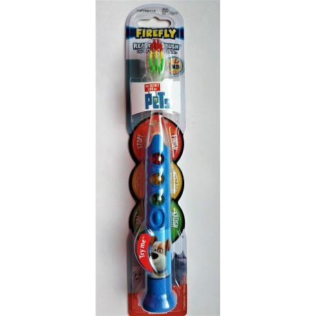 Зубная щетка FIREFLY SECRET LIFE OF PETS READY GO три световых индикатора 1 шт