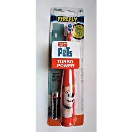 Зубная щетка FIREFLY SECRET LIFE OF PETS TURBO + батарейка 1 шт