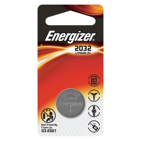 Батарейки Energizer Energizer CR2032 3V 1шт