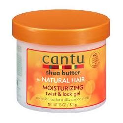 Гель для укладки CANTU MOISTURIZING twist & lock gel для густых вьющихся волос 370 грамм