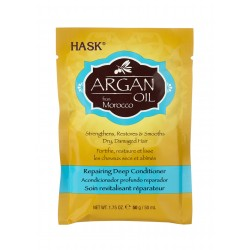 Кондиционер Hask Argan Oil восстанавливающий с аргановым маслом 355 мл