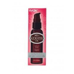 Масло д/волос Hask Keratin Protein Smoothing разглаживающее для блеска 59 мл коробка