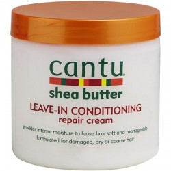 Кондиционер-крем CANTU shea butter LEAVE-IN несмываемый 453 грамм