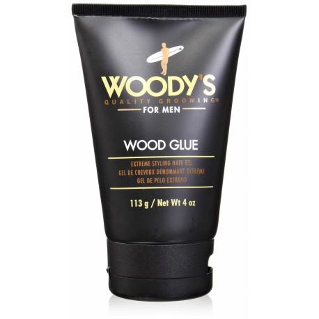 Гель-клей для укладки Woody's Wood Glue экстремальной фиксации 113 грамм